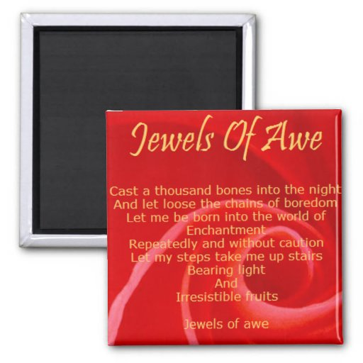 jewels of awe magnet