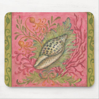 Jewels of the Sea Junonia Shell by Kate McRostie Mouse Pad