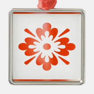 Jewels on RedWax Candle : SHARE Joy Square Metal Christmas Ornament
