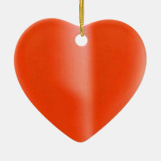 Jewels on RedWax Candle : SHARE Joy Double-Sided Heart Ceramic Christmas Ornament