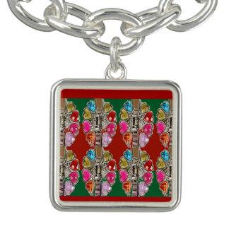 Jewels pour amour,fiancer,marier,fiancailles,mer charm bracelet
