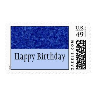 Jewels - Sapphire Postage Stamp