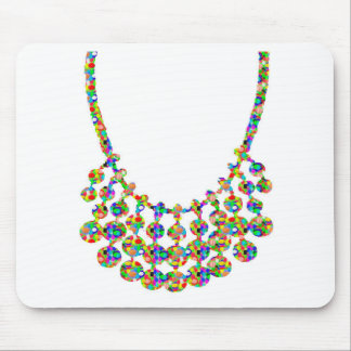 Jewels Strings Sparkle Graphic Deco Art by NAVIN J Mouse Pad
