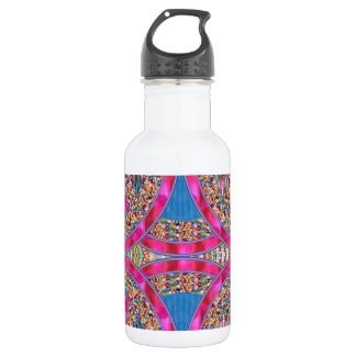 Jewels with PINK Ribbons Water Bottle