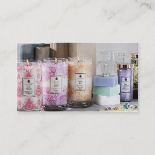 Scented business cards templates zazzle jewelscent business card colourmoves