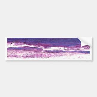 Jeweltone Sunset - CricketDiane Ocean Art Bumper Sticker