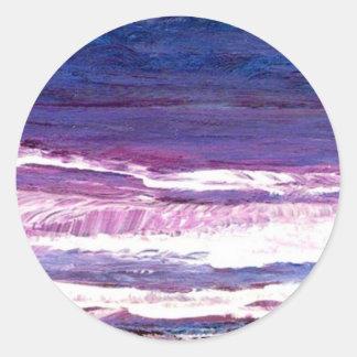 Jeweltone Sunset - CricketDiane Ocean Art Stickers
