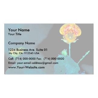 Jewelweed manchado tarjetas de visita