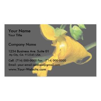 Jewelweed pálido tarjetas de visita