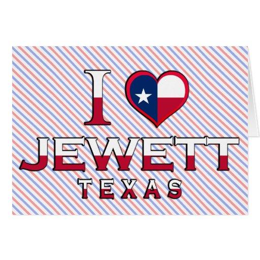Jewett, Texas Greeting Card