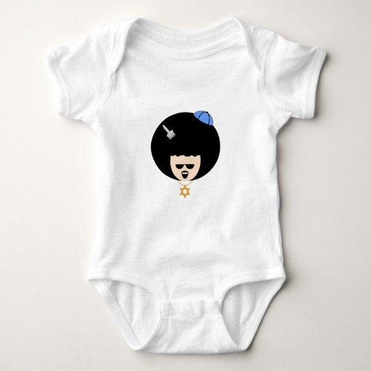 Jewfro Baby Bodysuit