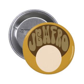 Jewfro Pinback Buttons