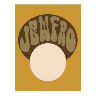 Jewfro Postcard