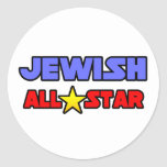 Jewish All Star Stickers