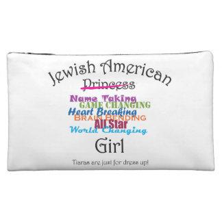 Jewish American Girl Makeup Bags