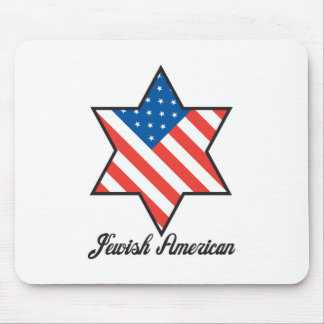 Jewish American Mouse Mats