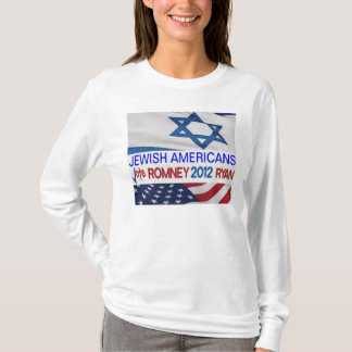 Jewish Americans for Romney Ryan 2012 T-Shirt