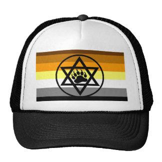Jewish Bear Pride Flag Trucker Hat