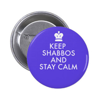 Jewish Button-Keeping Calm-The New Way Button