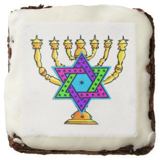 Jewish Candlesticks Brownie