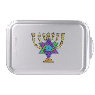 Jewish Candlesticks Cake Pan