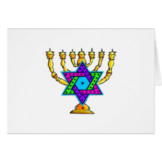Jewish Candlesticks Cards