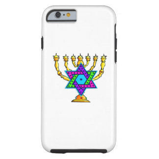 Jewish Candlesticks Tough iPhone 6 Case