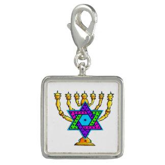 Jewish Candlesticks Charms