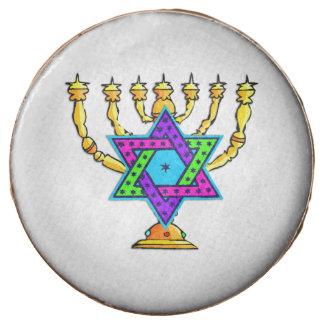 Jewish Candlesticks Chocolate Covered Oreo