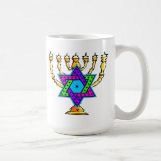 Jewish Candlesticks Coffee Mug