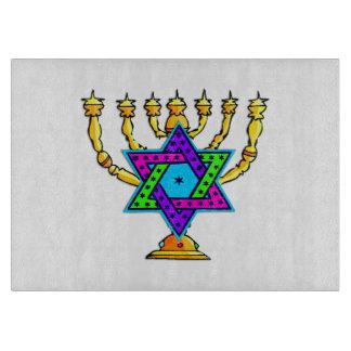 Jewish Candlesticks Cutting Boards