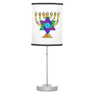 Jewish Candlesticks Desk Lamp