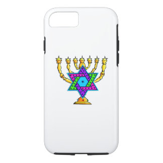 Jewish Candlesticks iPhone 7 Case