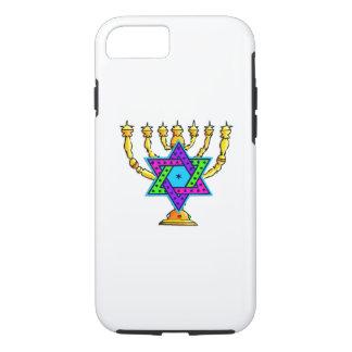 Jewish Candlesticks iPhone 8/7 Case