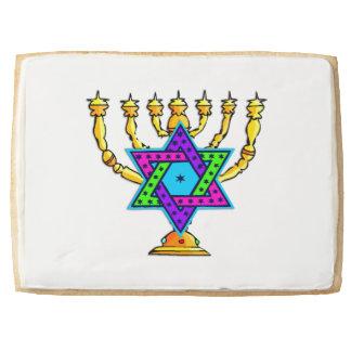 Jewish Candlesticks Jumbo Cookie