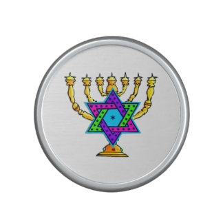 Jewish Candlesticks Speaker