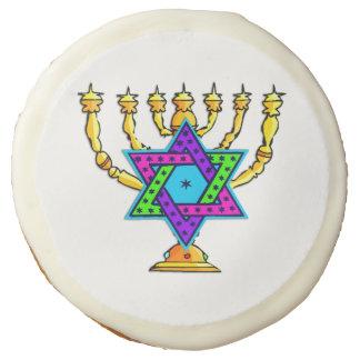 Jewish Candlesticks Sugar Cookie