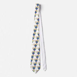 Jewish Candlesticks Tie