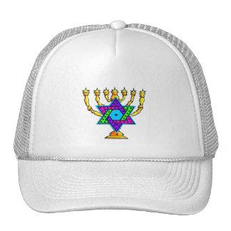 Jewish Candlesticks Trucker Hat
