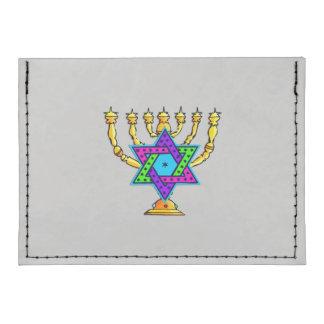 Jewish Candlesticks Tyvek® Card Case Wallet