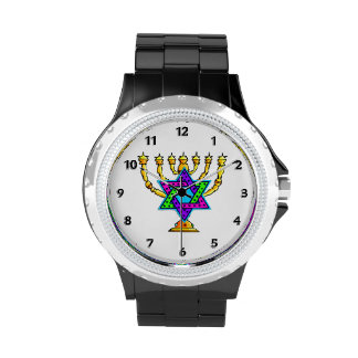 Jewish Candlesticks Watch