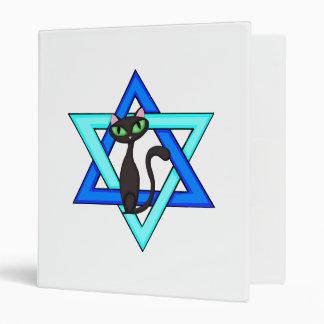 Jewish Cat Stars Binders