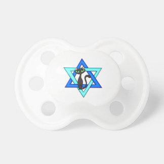 Jewish Cat Stars BooginHead Pacifier