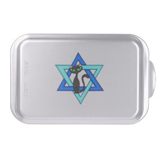 Jewish Cat Stars Cake Pan