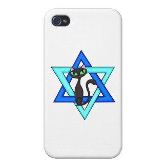 Jewish Cat Stars Case For iPhone 4