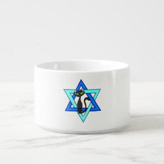 Jewish Cat Stars Chili Bowl