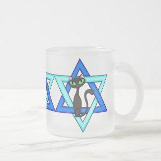 Jewish Cat Stars Coffee Mug