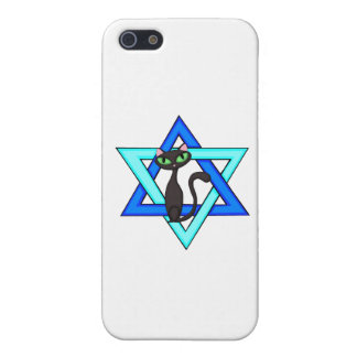 Jewish Cat Stars Cover For iPhone 5/5S