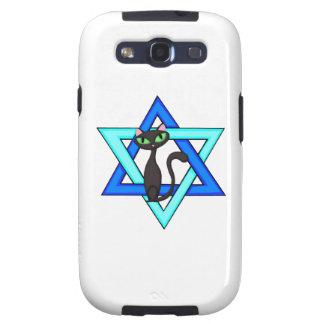 Jewish Cat Stars Galaxy S3 Cases