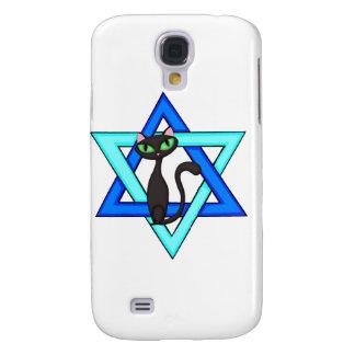 Jewish Cat Stars Galaxy S4 Case